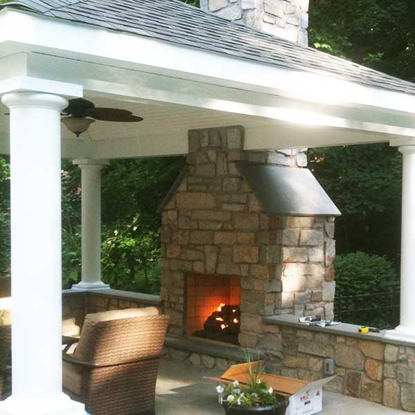 Outdoor Fireplace Patio Fireplace Fire Pit Outdoor Kitchens
